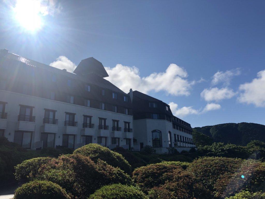 箱根山のホテル宿泊記ブログ
